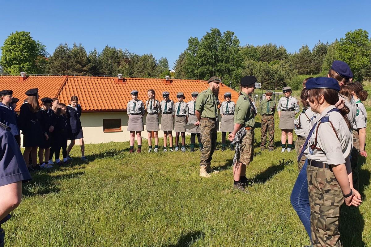 Mazurska wyprawa harcerzy hufca ZHP Bolesławiec