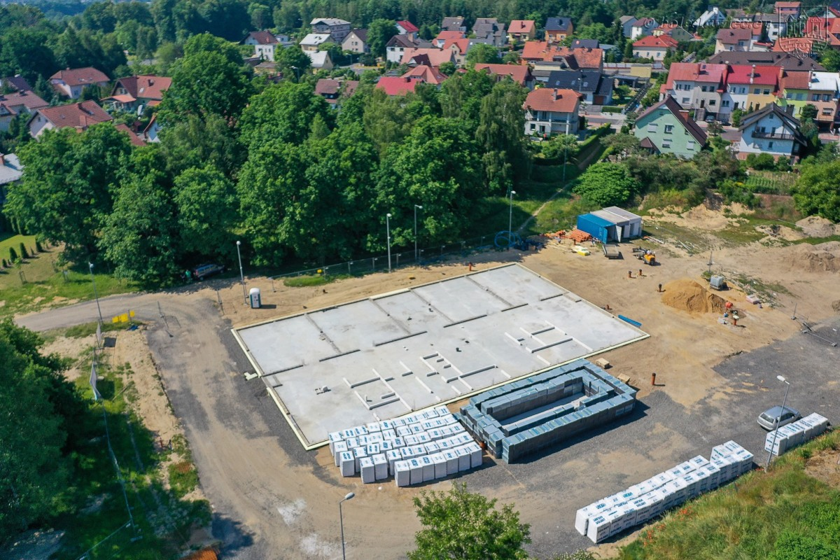 Prace na osiedlu Kwiatowym w Bolesławcu