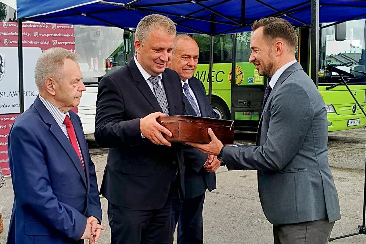 Podsumowanie dwuletniej  działalności PKS wBolesławcu