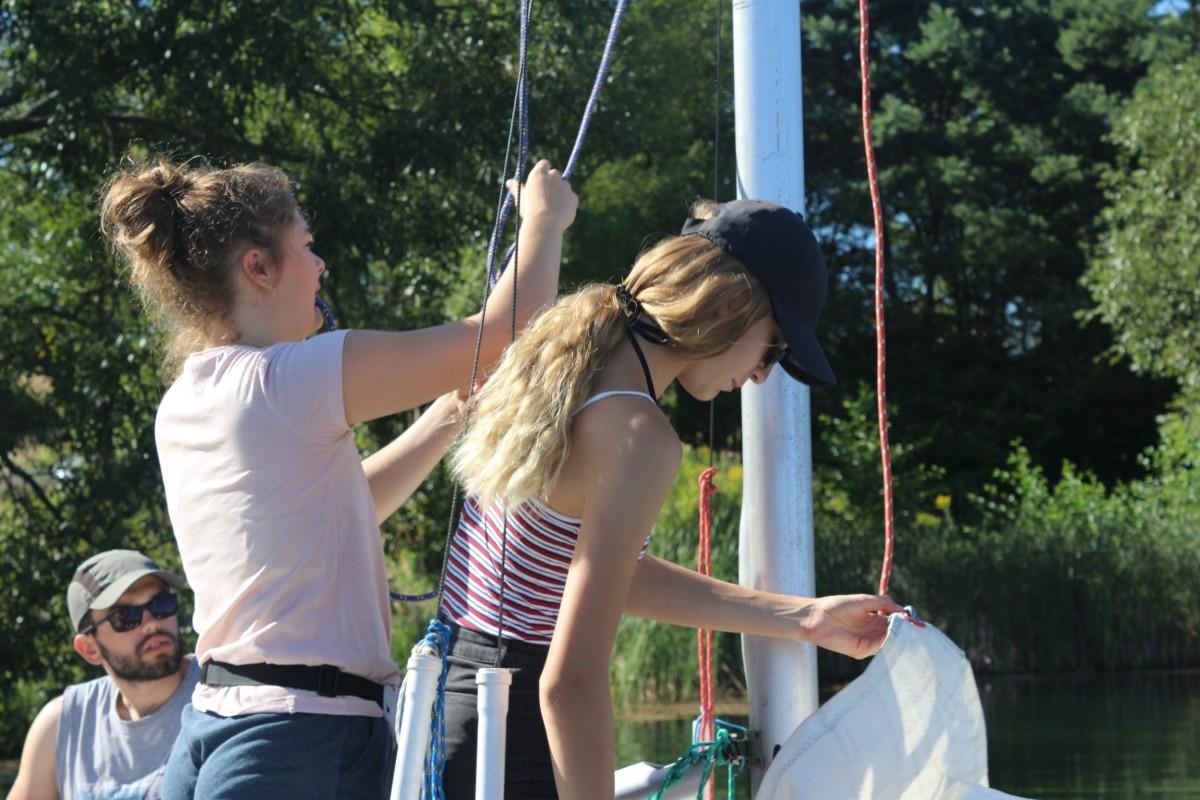 Szkolenie żeglarskie dla młodzieży