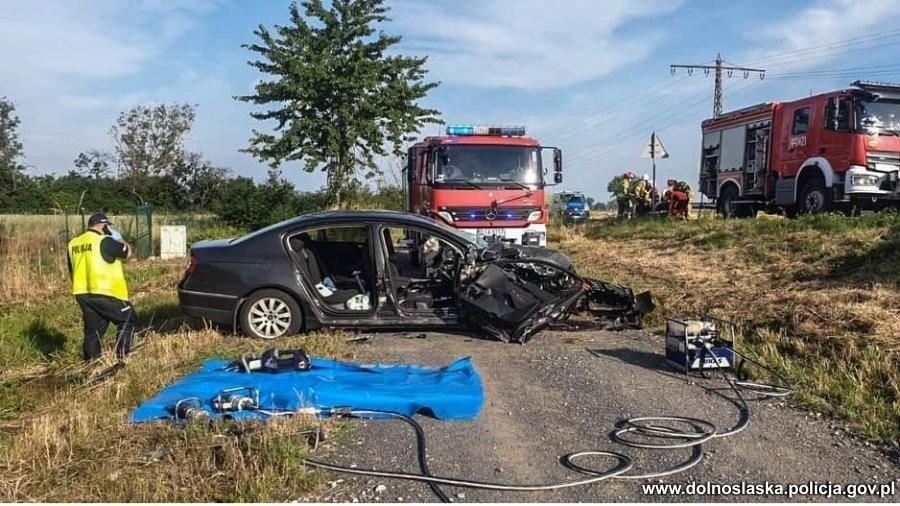 Auta po wypadku