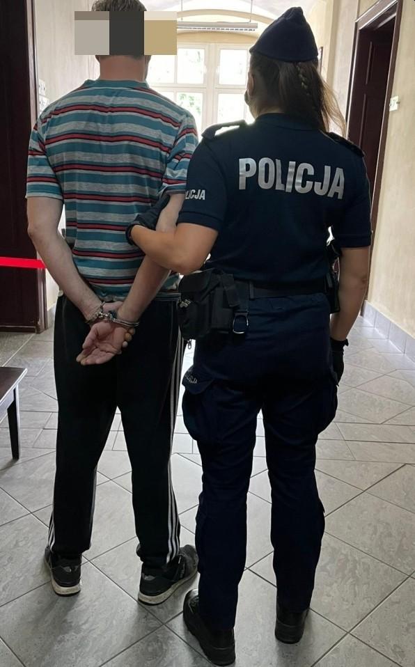 Aresztowany sprawca pobicia i kradzieży