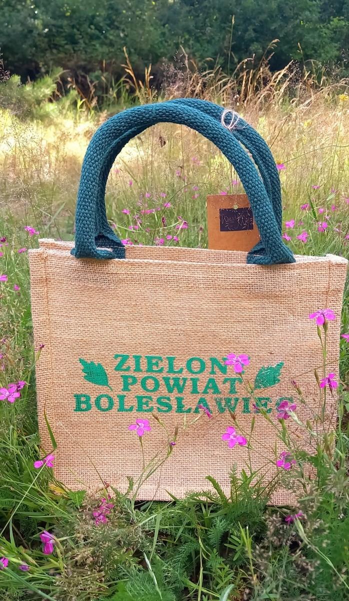 Ekologiczne torby Zielony Powiat Bolesławiec