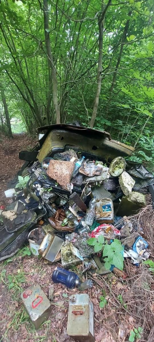 Śmieci na Miedziaku