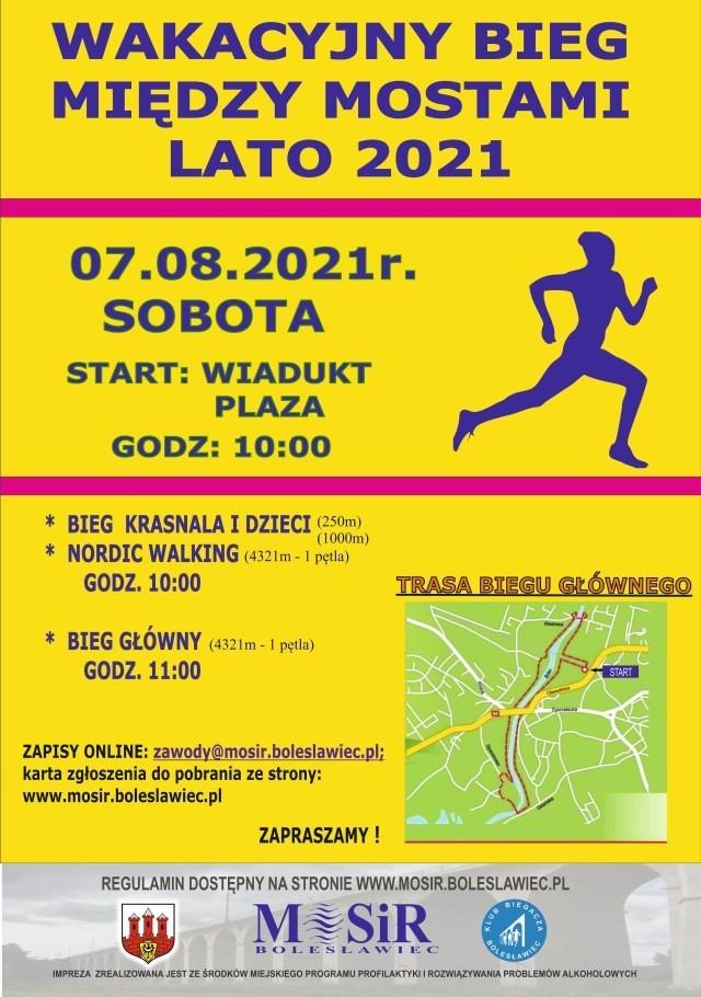 Wakacyjny Bieg Między Mostami - Lato 2021