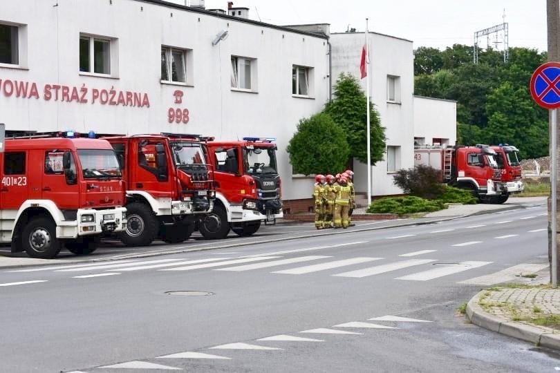 Strażacy z Bolesławca uczcili pamięć Powstańców Warszawskich