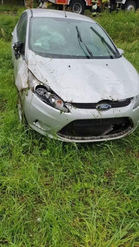 Ford wypadł w drogi koło Kozłowa