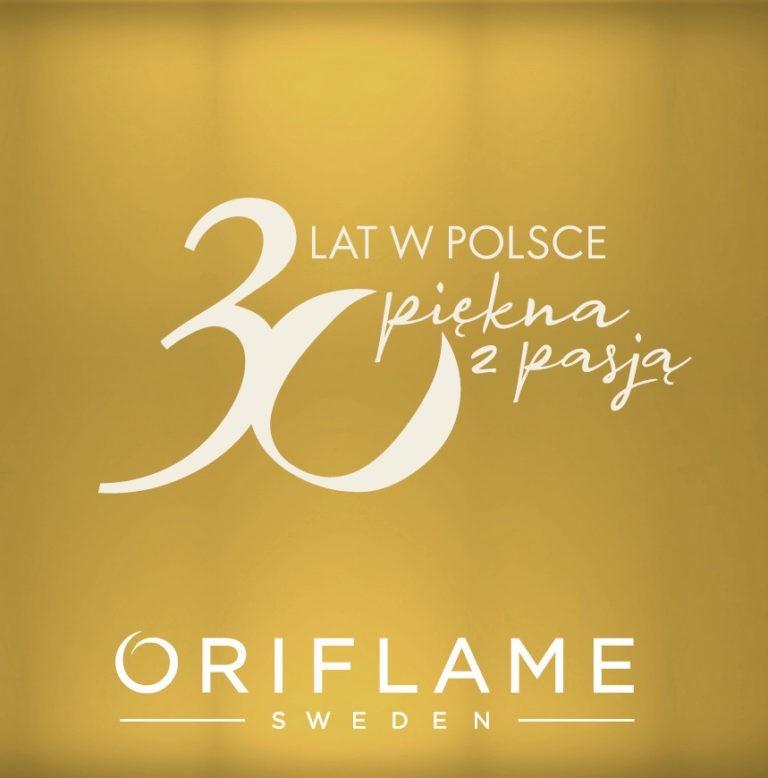 Oriflame 30 lat w Polsce