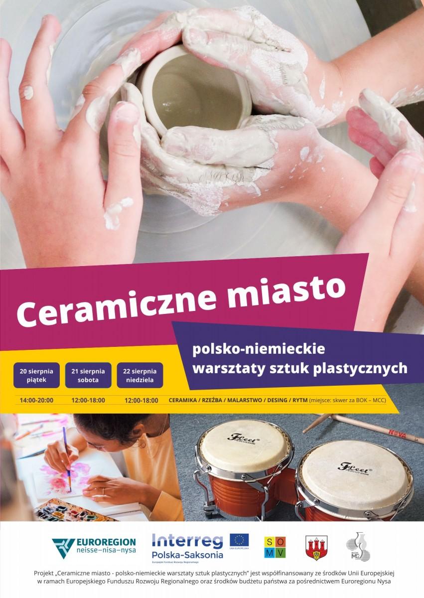 Plakat Ceramiczne Miasto