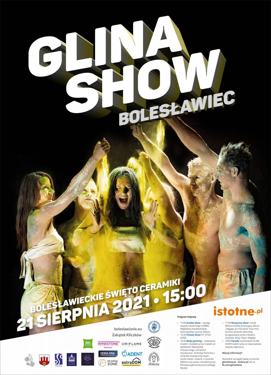 Plakat Glina Show 2021