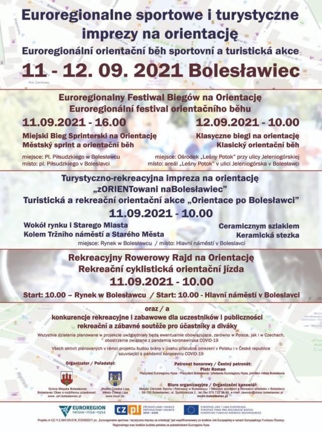 Euroregionalne Sportowe i Turystyczne Imprezy na Orientację