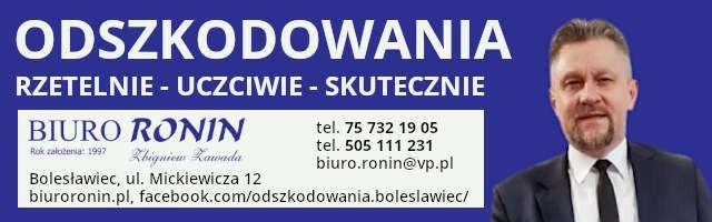 Odszkodowania - Biuro Ronin Zbigniew Zawada