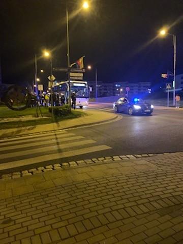 Nocna akcja policji na Karola Miarki