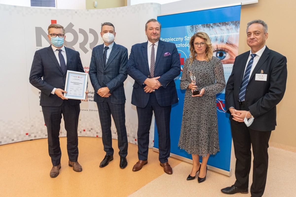 Bolesławiecki szpital z nagrodą