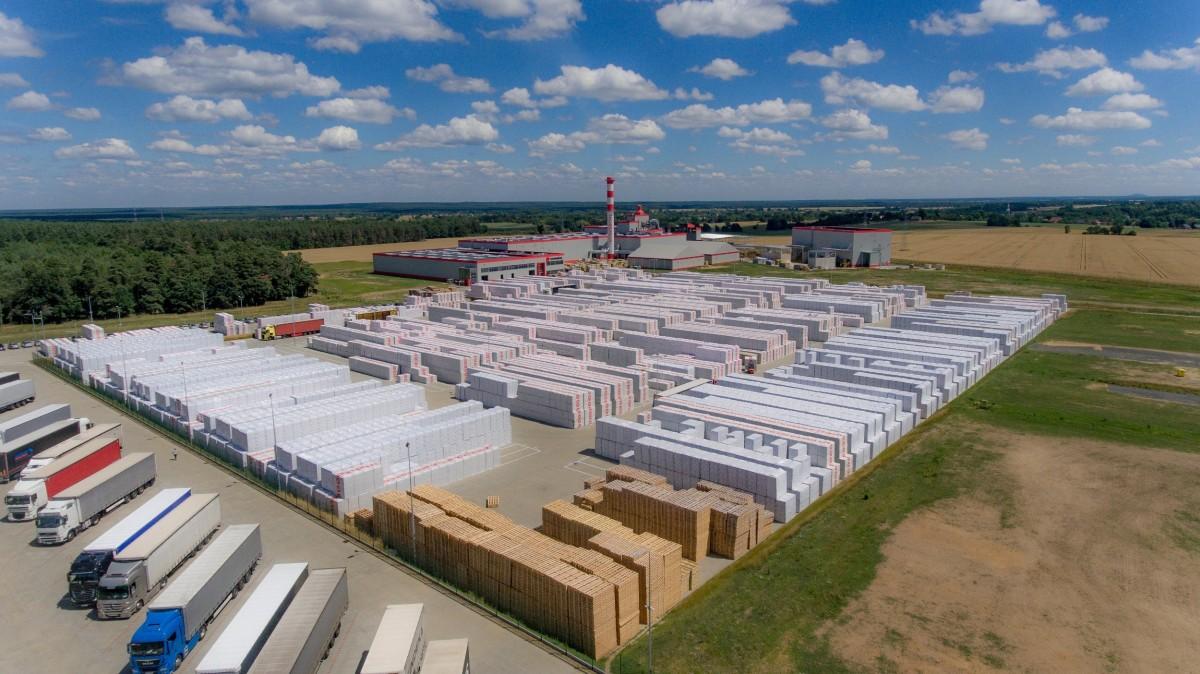 Fabryka wełny mineralnej w Wykrotach to jedna z największych inwestycji w historii TECHNONICOL